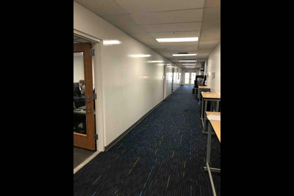 Tompkins 4th Floor Hallway 1