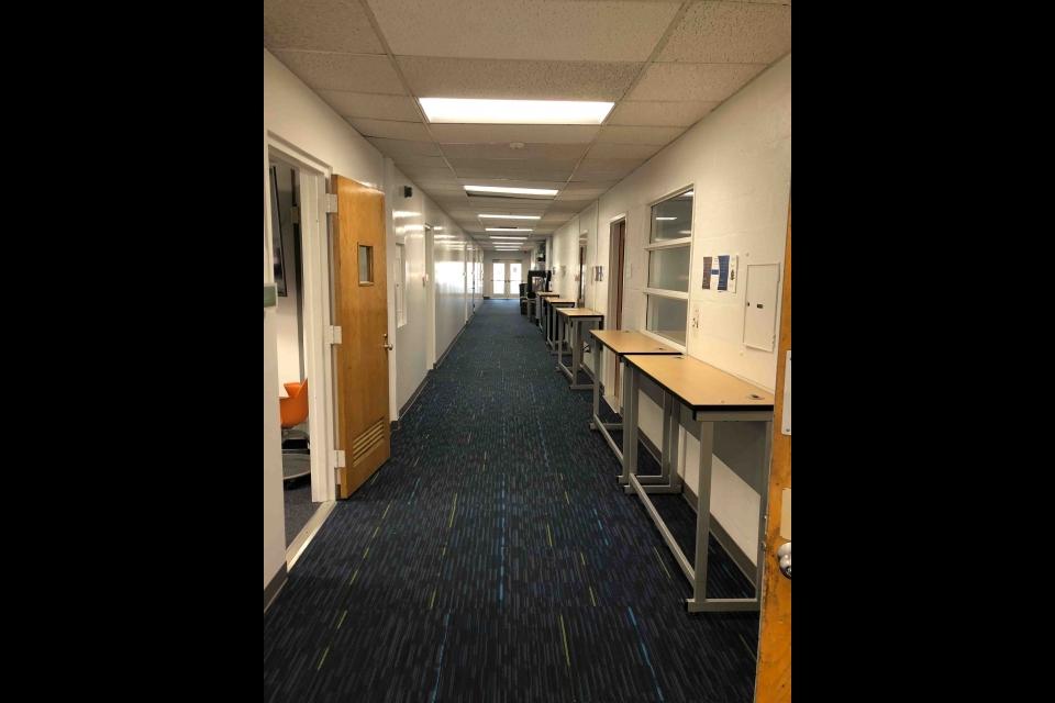 Tompkins 4th Floor Hallway 2