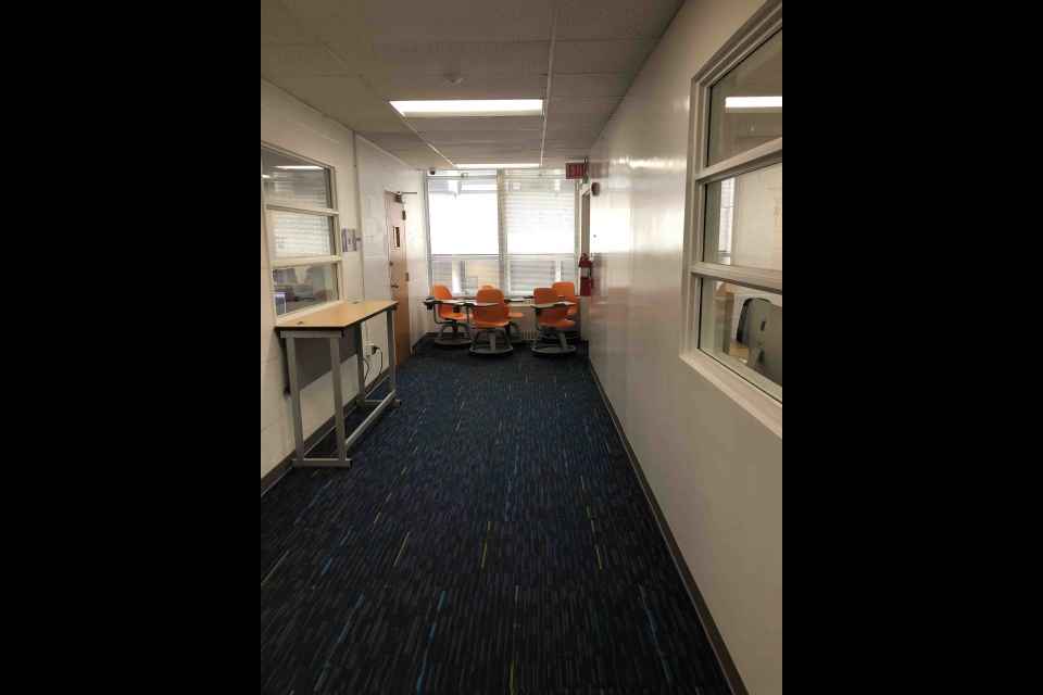 Tompkins 4th Floor Hallway 3