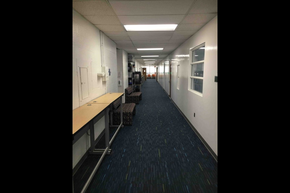 Tompkins 4th Floor Hallway 4